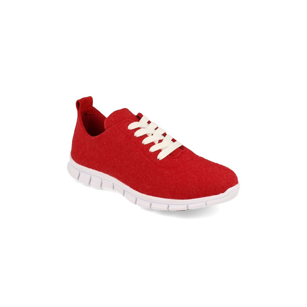 Sneaker Palomitas Rojo