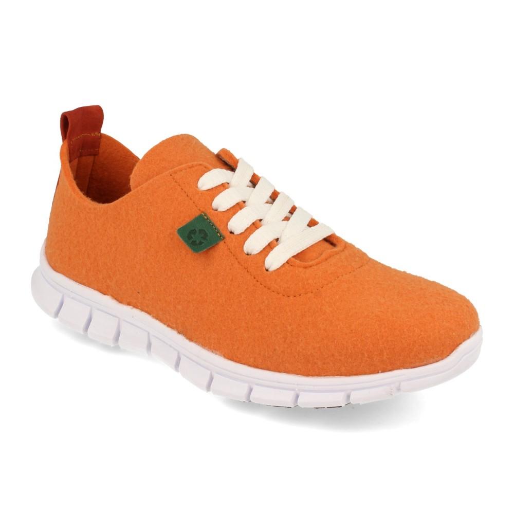 Sneaker Palomitas Naranja