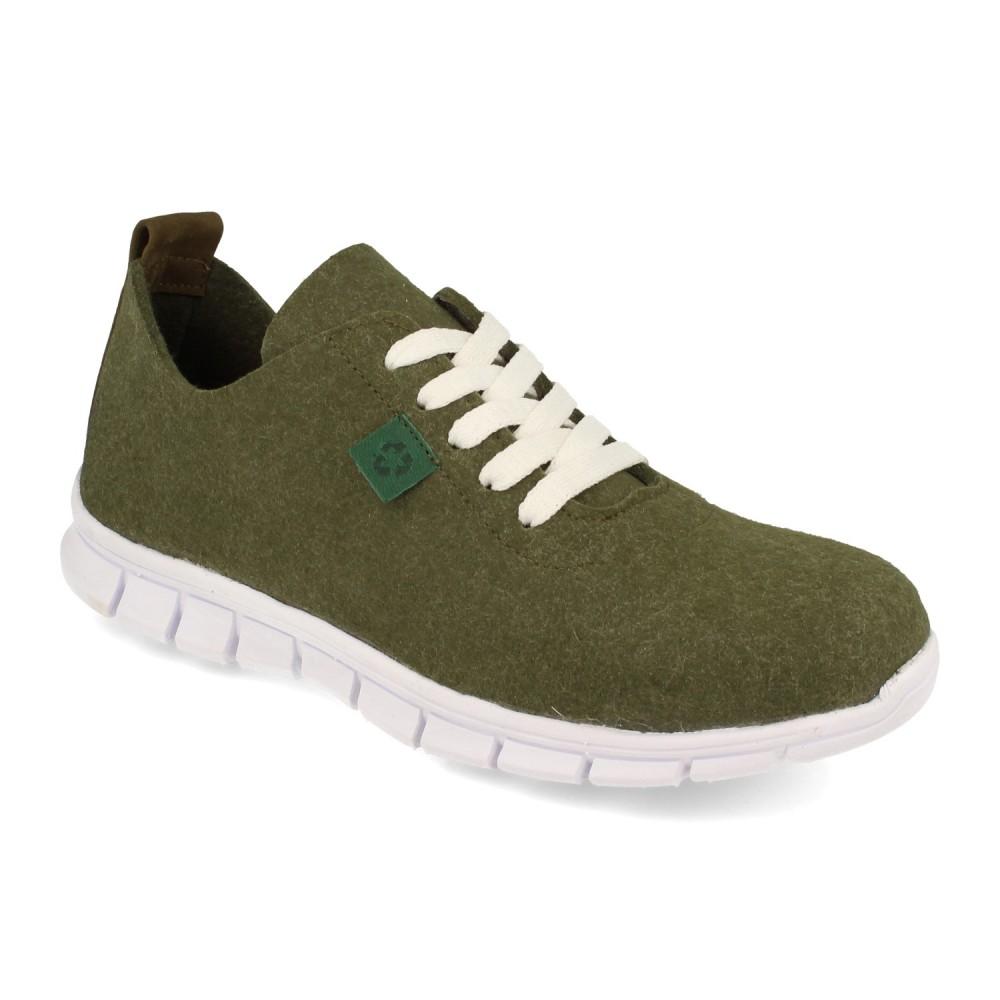 Sneaker Palomitas Verde Militar